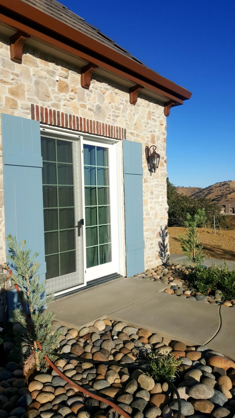 Poppy hill shutters front