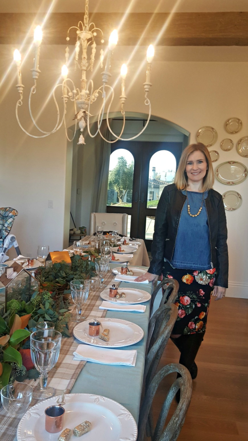 Thanksgiving 2016 shannon table