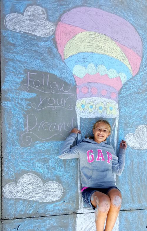 Thanksgiving 2016 chalk art