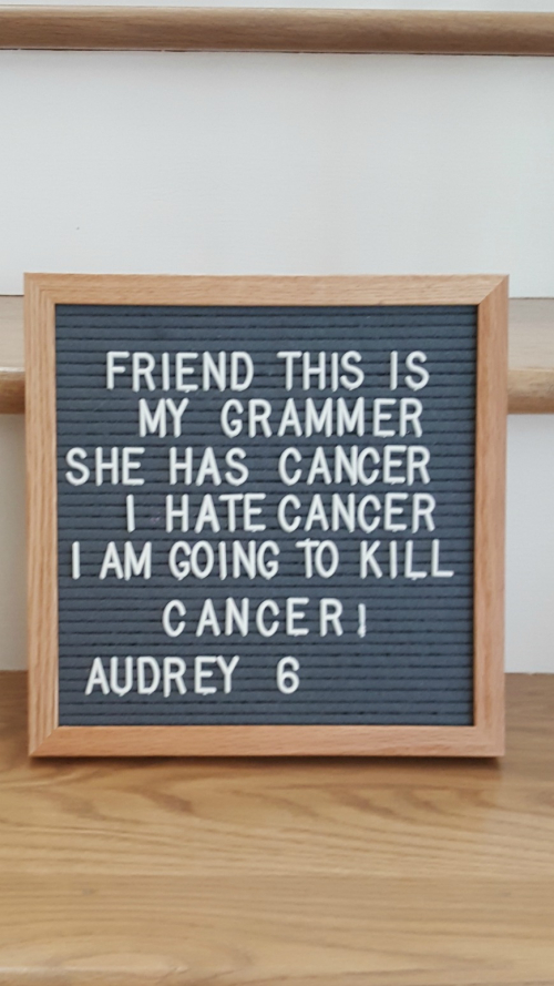 Cancer audrey