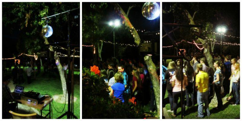 SNA Disco Ball Collage
