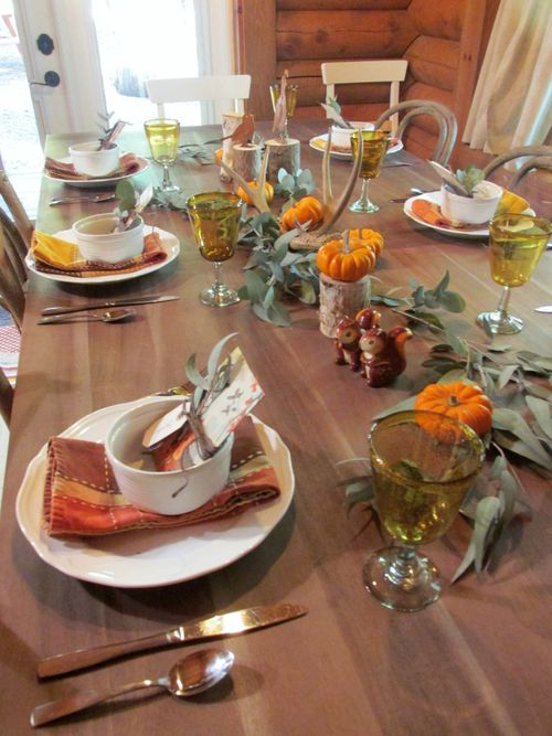 Enchanted fall table