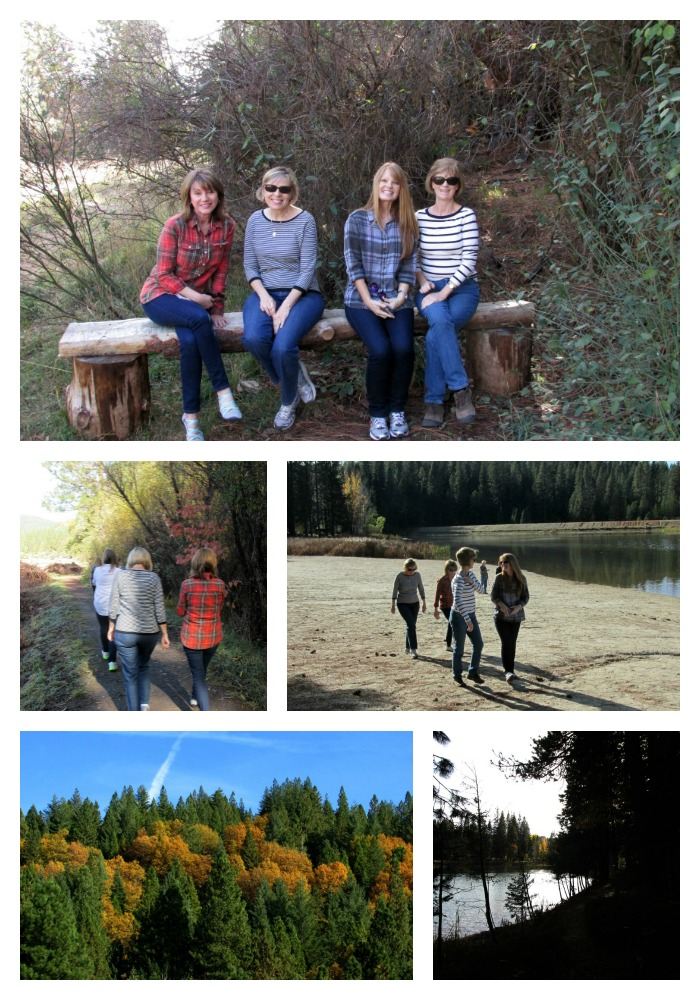 Enchanted fall gathering hike Collage