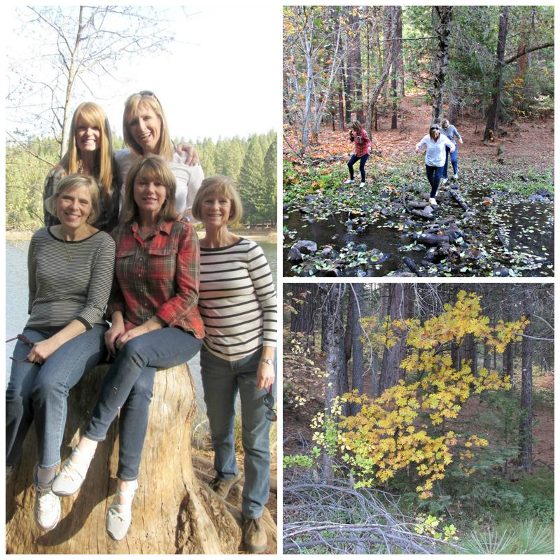 Enchanted fall hike 2 Collage