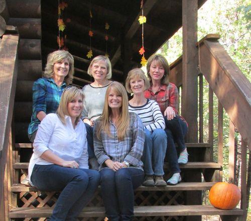 Fall gathering steps girls