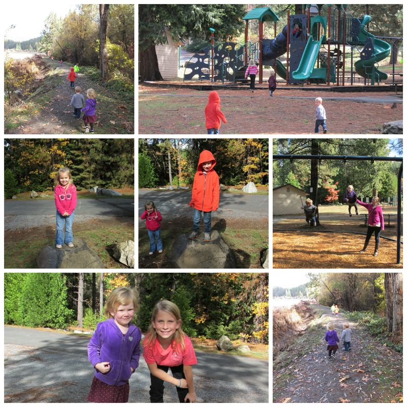 Cabin playground  Collage