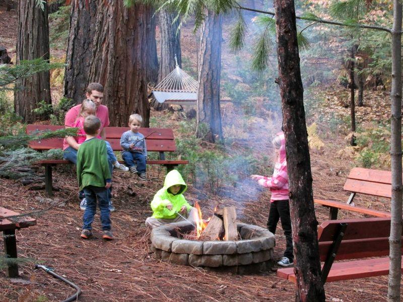 Cabin firepit kent