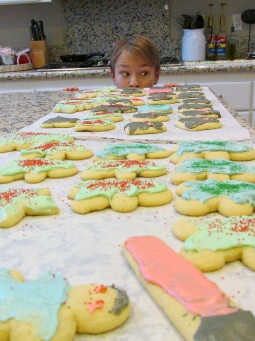 Christmas cookies payton