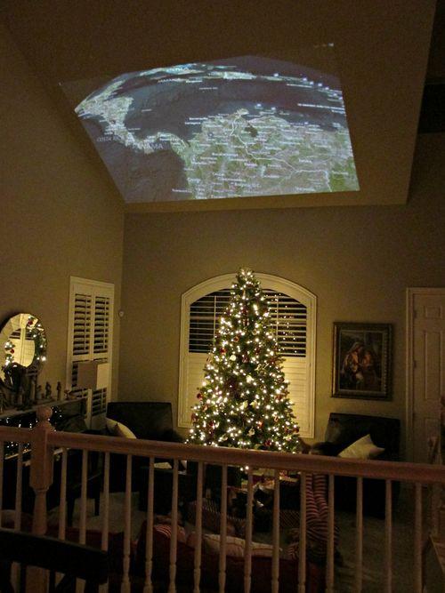 Christmas santa tracking