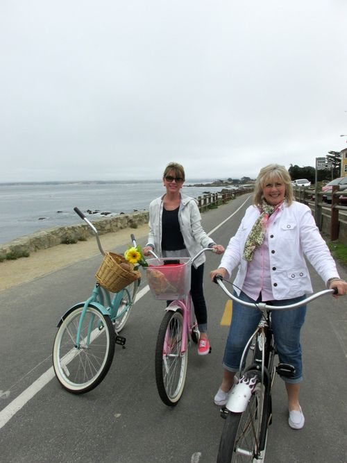 Bike adventure by the sea