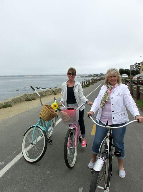 Bike adventure by the sea