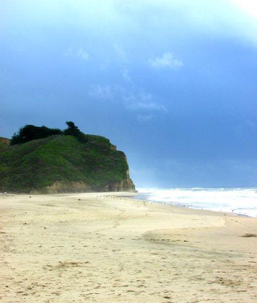 Pomponio stake beach 1