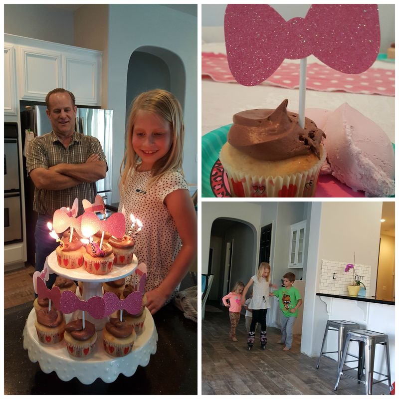 Carlee birthday Collage