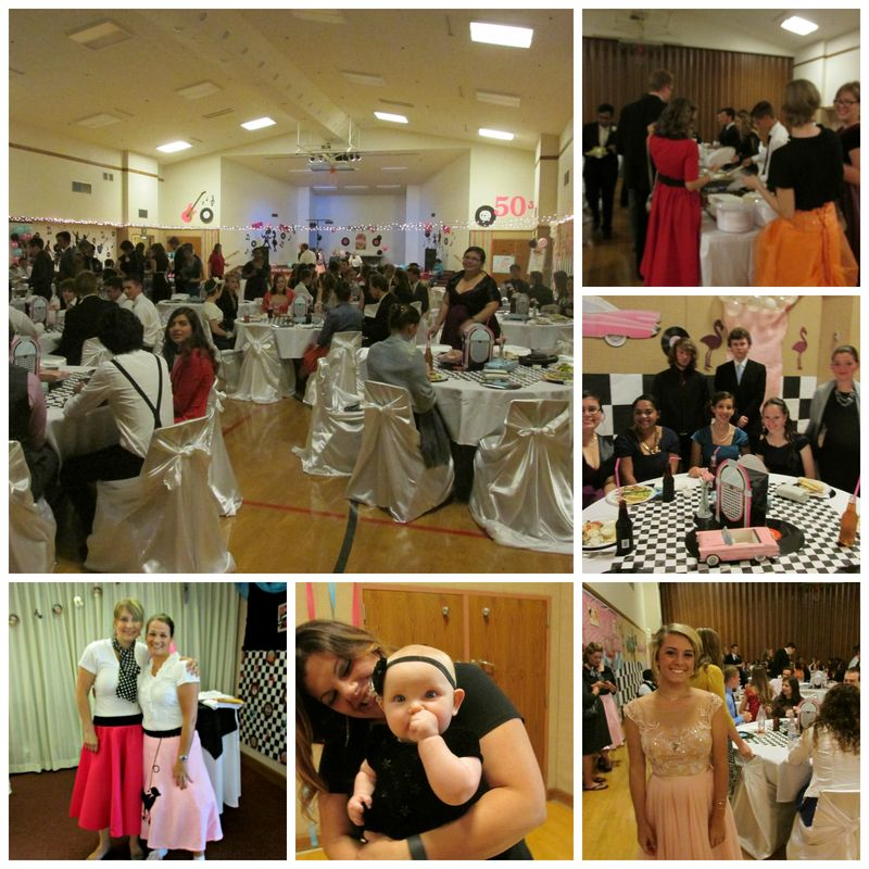 LDS Prom 2015 50's style  Collage