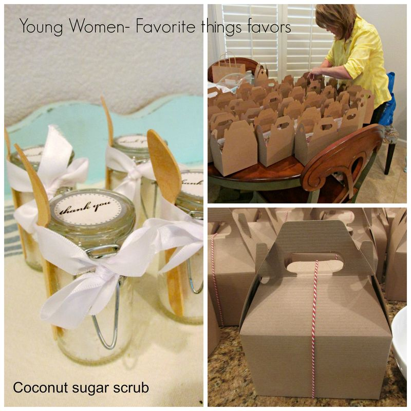 YW Favorite things favor  Collage
