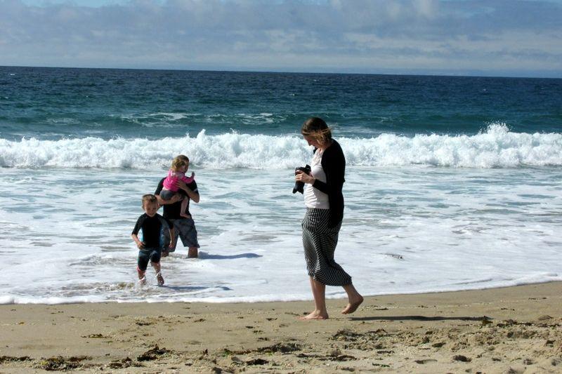 Monterey beach at seaside