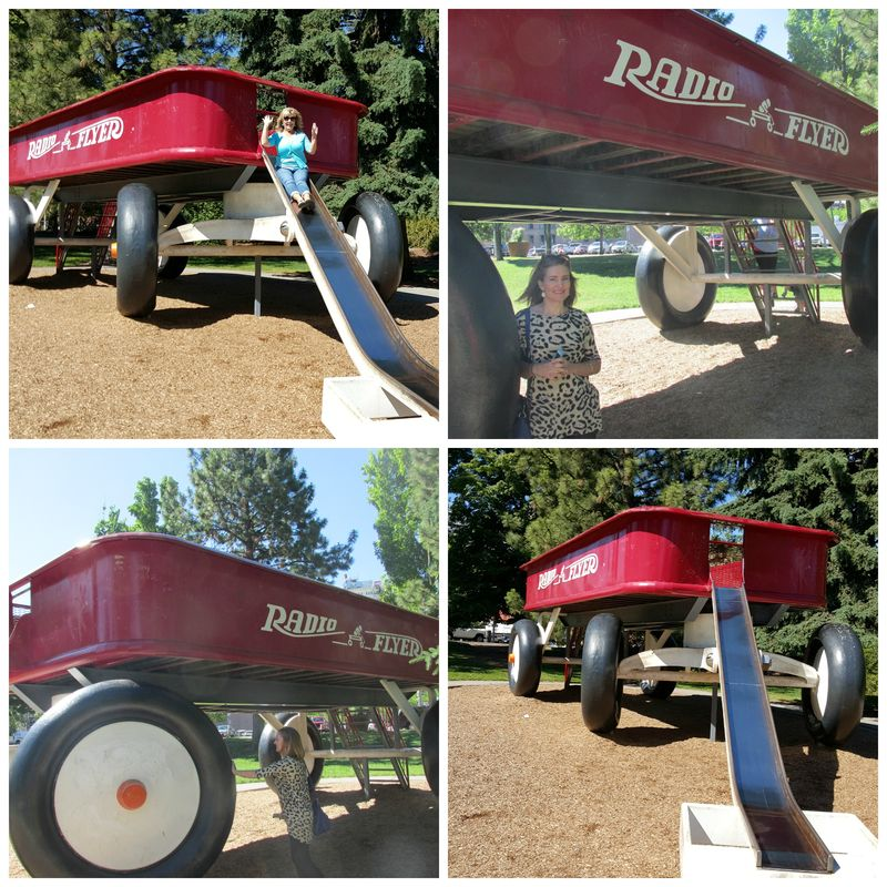 Radio flyer slide spokane Collage