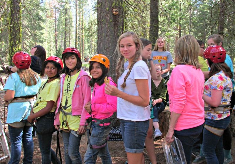 Young Womens girls camp 2015