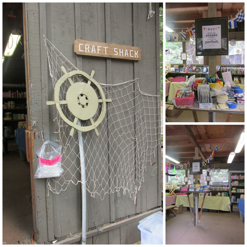 YW Camp craft shack