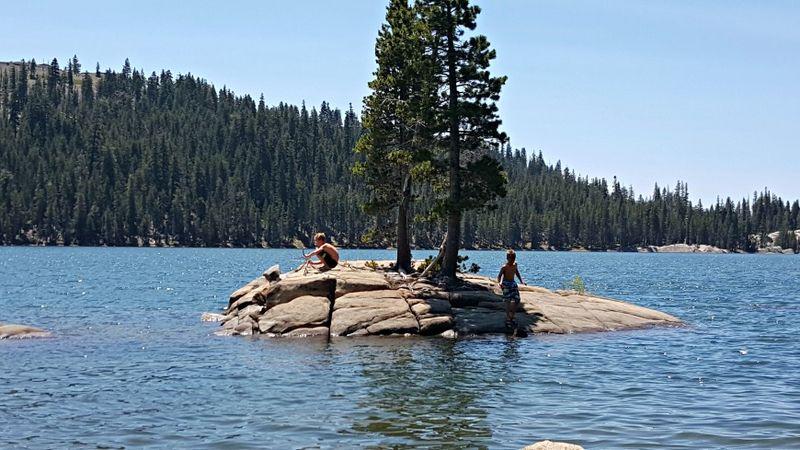 Cabin 2015 alpine lake boys island