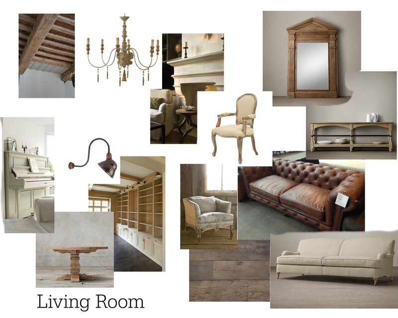 Poppy hill living room image board