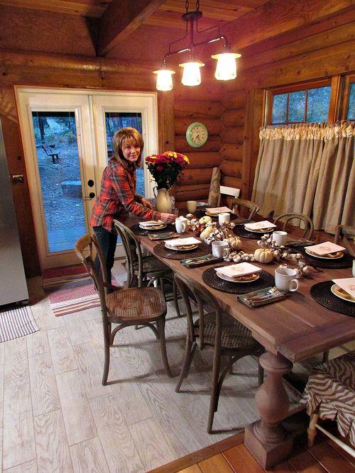 Fall- gather table sandi