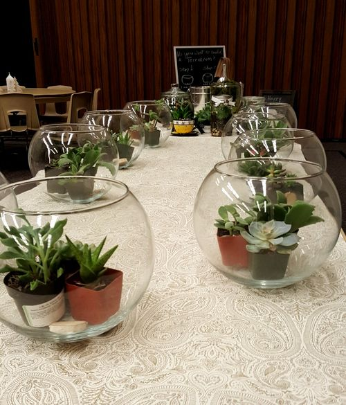 Relief society- super Saturday- terrariums 2