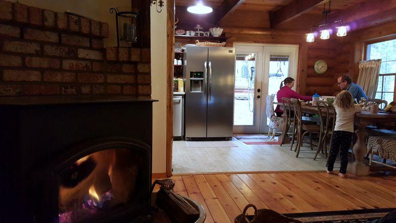 Cabin nov 2015 fireplace