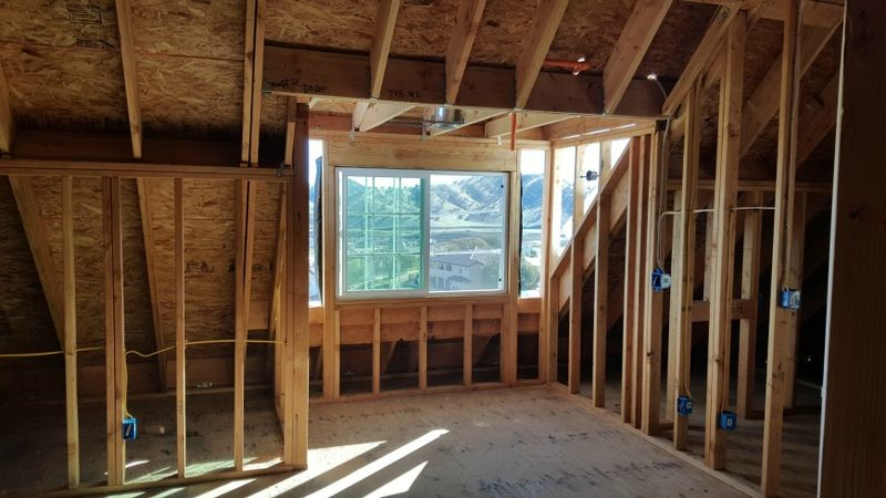 Poppy hill- parents room framed
