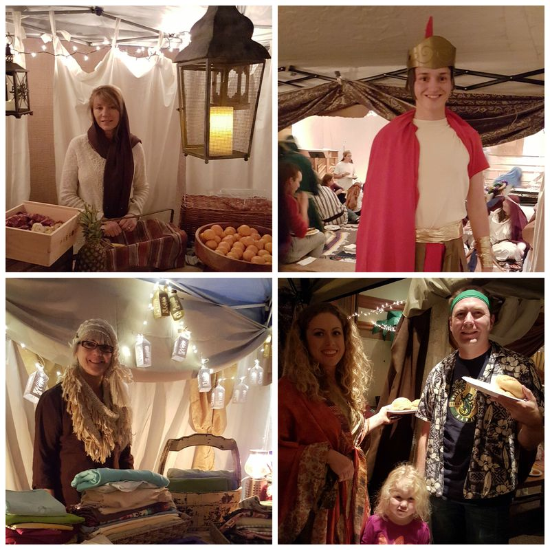 A night in Bethlehem- tent pic 1 Collage