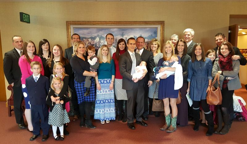 Lincolns blessing dec 2015 group