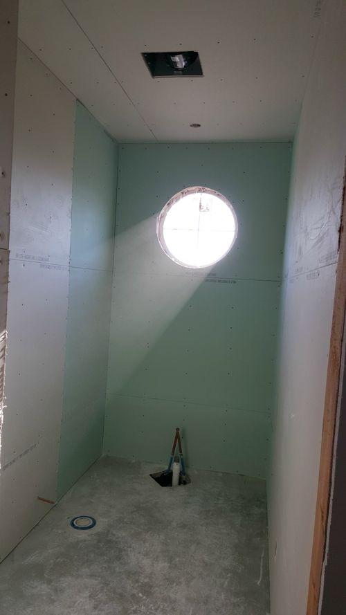 Poppy hill guest bathroom window