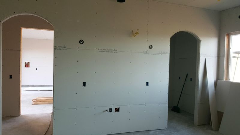 Poppy hill kitchen wall dry wall
