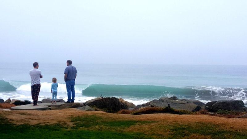 Oceanside morning fog kent
