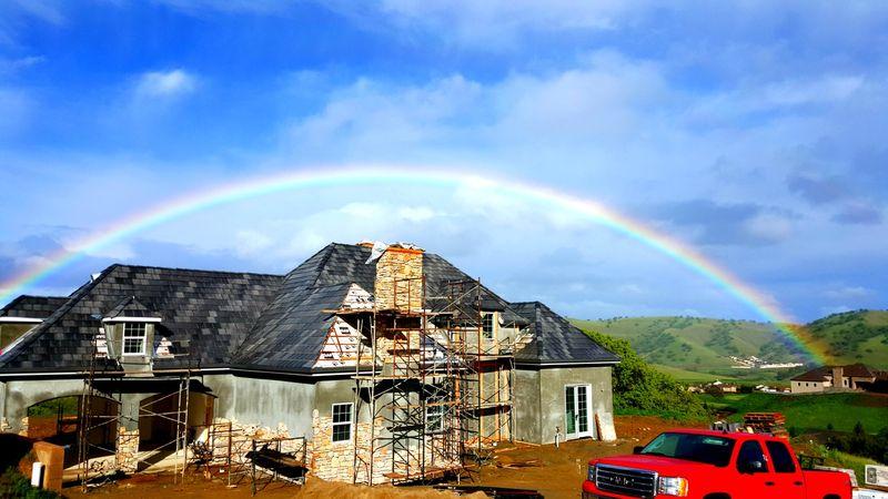 Poppy hill - personal rainbow