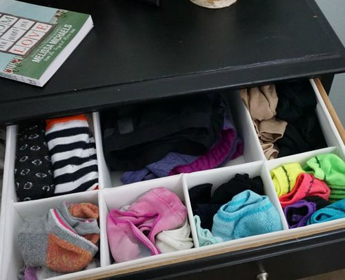 Make room for what you love- drawer