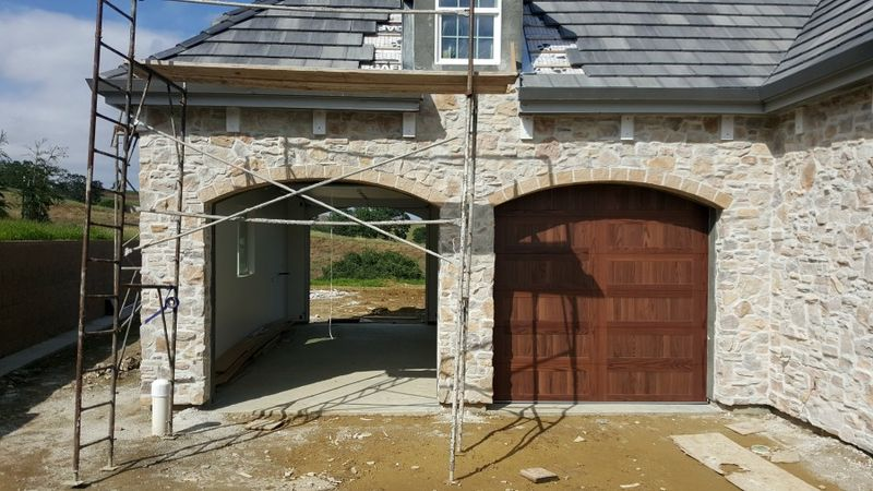 Poppy hill garage doors one opened