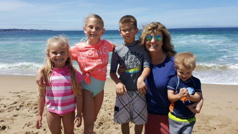 Carlee birthday beach