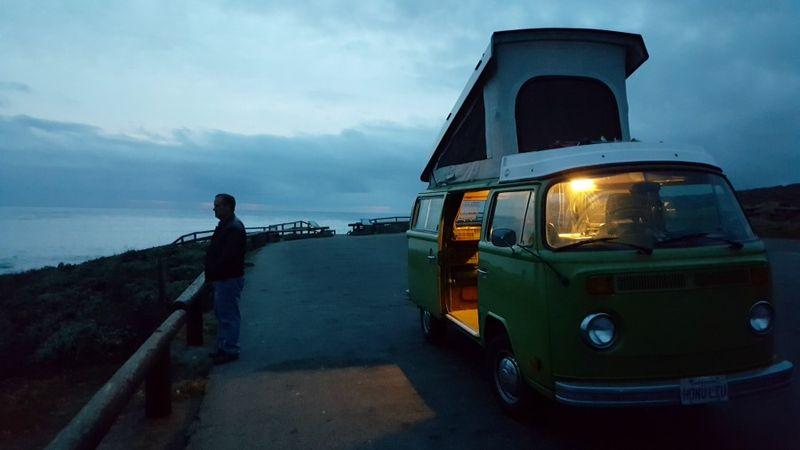 VW Danny sunset
