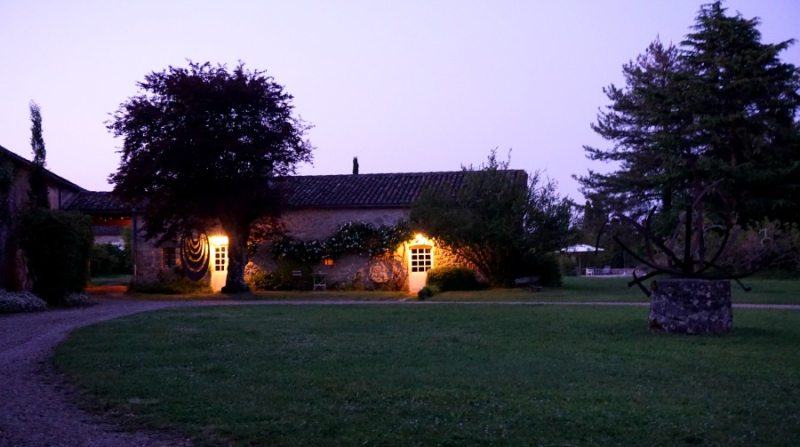 Academy france cottage night