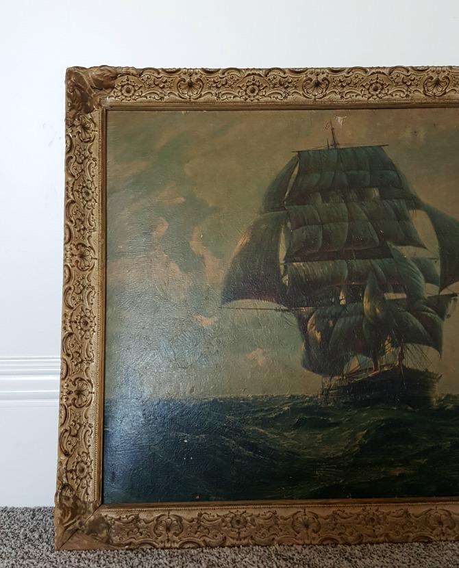 Poppy hill ship art