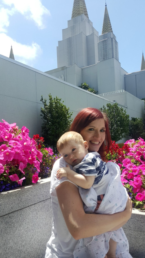 Lincoln and bree oakland temple