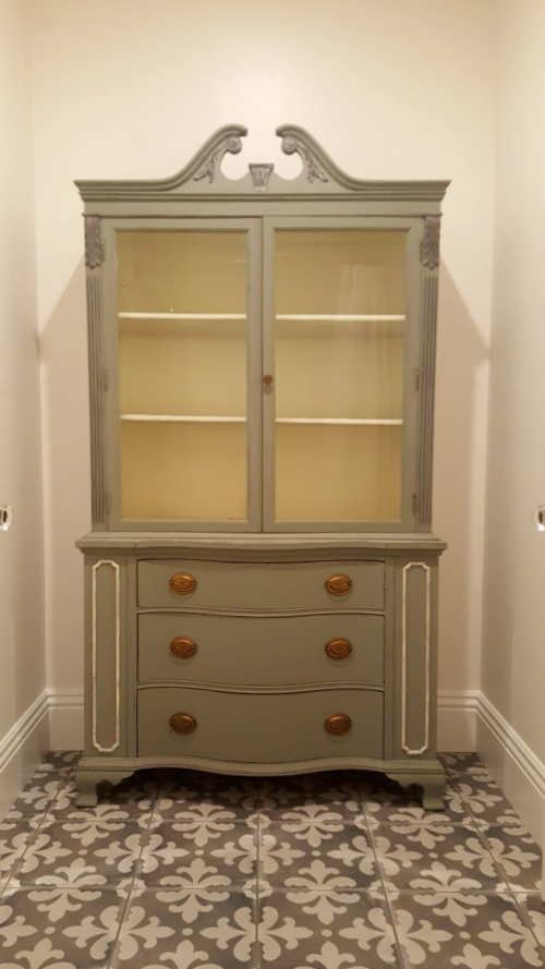 Poppy hill vintage hutch