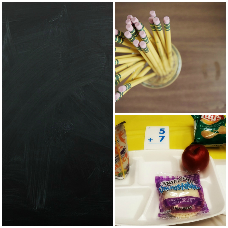 Relief society back to school chalkboard