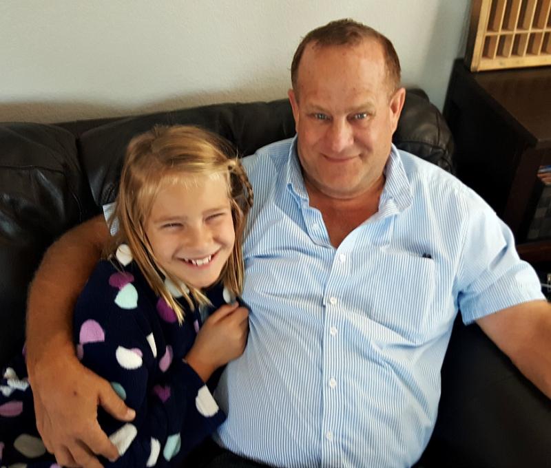 Anna and papa