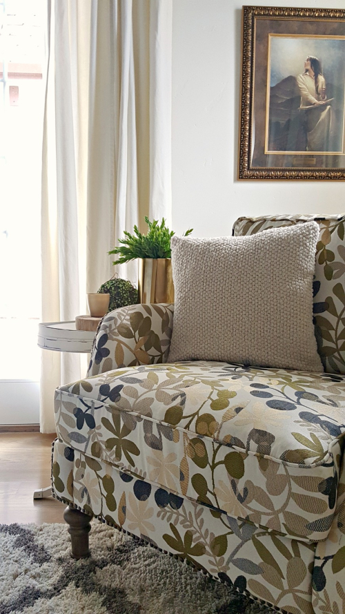 Poppy hill botanical chair