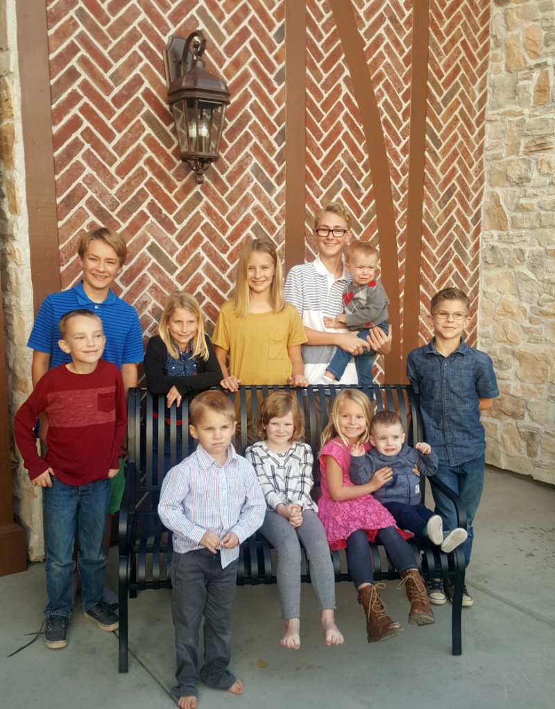 Thanksgiving 2016 grandchildren
