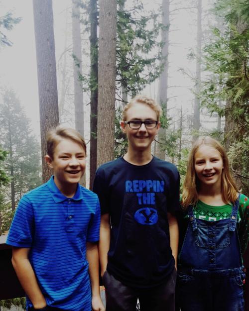 Cancer cabin grandkids