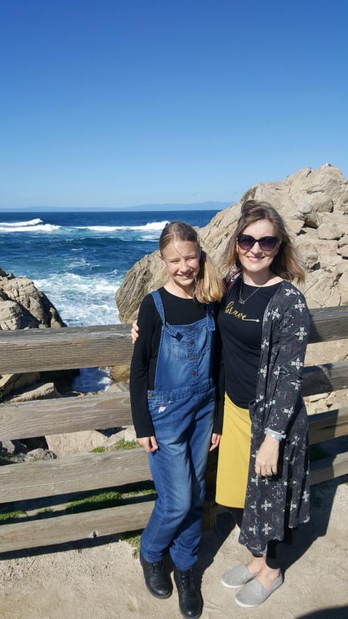 Shannon and anna beach rocks