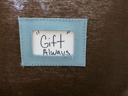 Gift always
